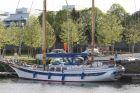 """Die """"Habiby"""" im Hafen von Vannes in der Bretagne, wo sie auf dem Weg von Glückstadt ins Mittelmeer überwintert hat"""